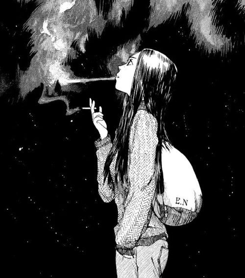 Anime Girl Vaping