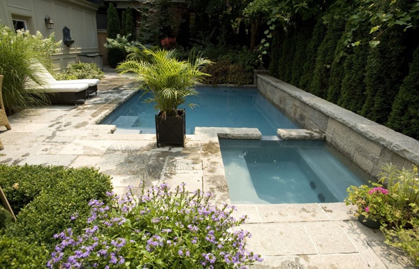 how to build a pool in a small space