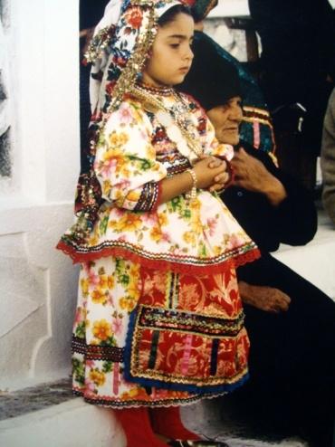 Greek folk costume from Karpathos, Greece