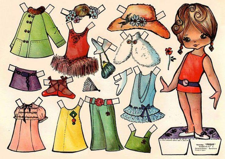 muñecas recortables de papel | indice de páginas del blog recortablesmariquitas blogspot ...