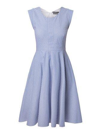 Kleid mit wechselndem Streifenmuster | FASHION ID Online Shop