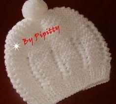 Para os bebês que nascem nos períodos mais frios do ano os casaquinhos são feitos em tamanho menor.  Esta receita é para um bebê com até 3 m...