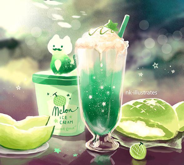 Melon Cream Cat 01. - n*kim