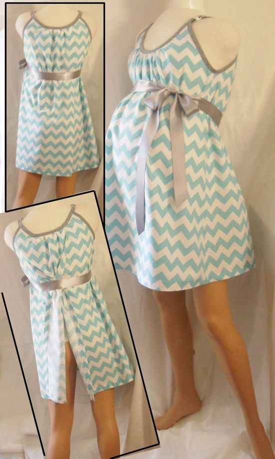 Mommie  Maternity Hospital Gown. Look good in your hospital