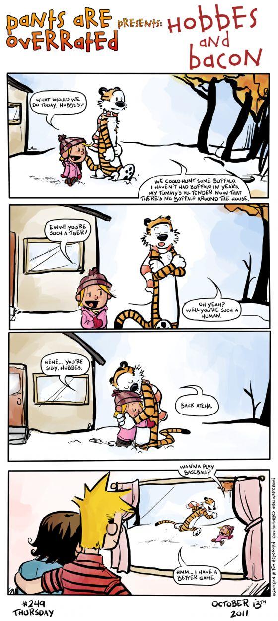 Calvin and hobbies sex cartoons