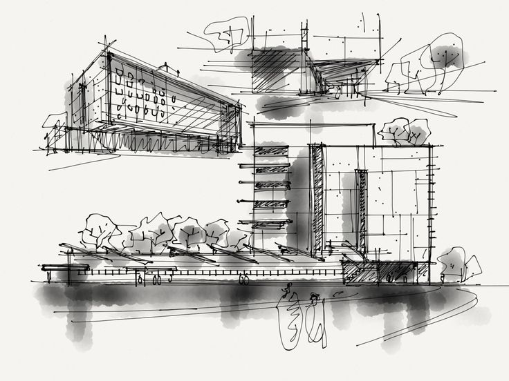 Best Sketch And Architecture Images On Pinterest Architecture