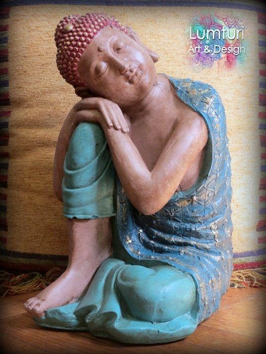 Buda de los sueños femenino grande 48x22 cm
