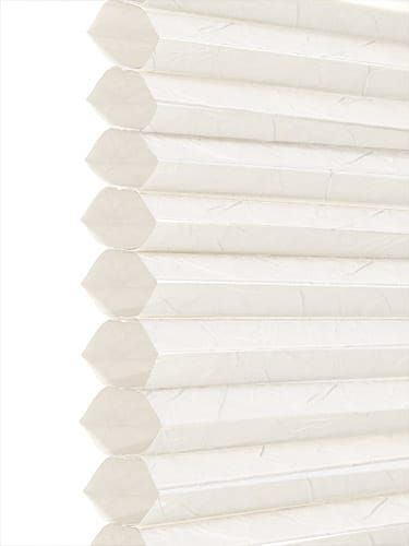 DuoLight Crush Ivory White Thermal Blind
