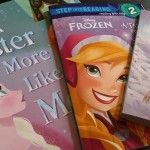 Rissa Reads: Disney's Frozen Books