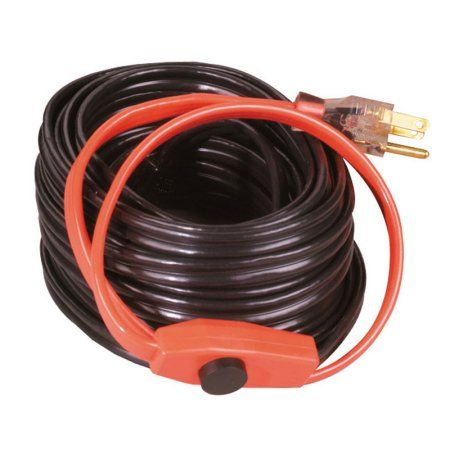 Easy Heat Ahb 180 80 Foot Heat Cable Water Pipes Cold Weather