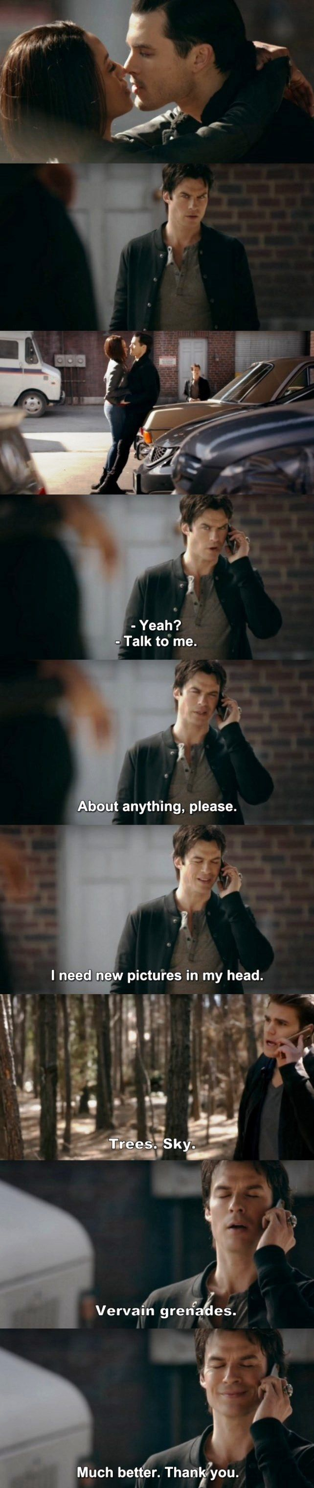 The Vampire Diaries TVD 7X19 - Damon.
