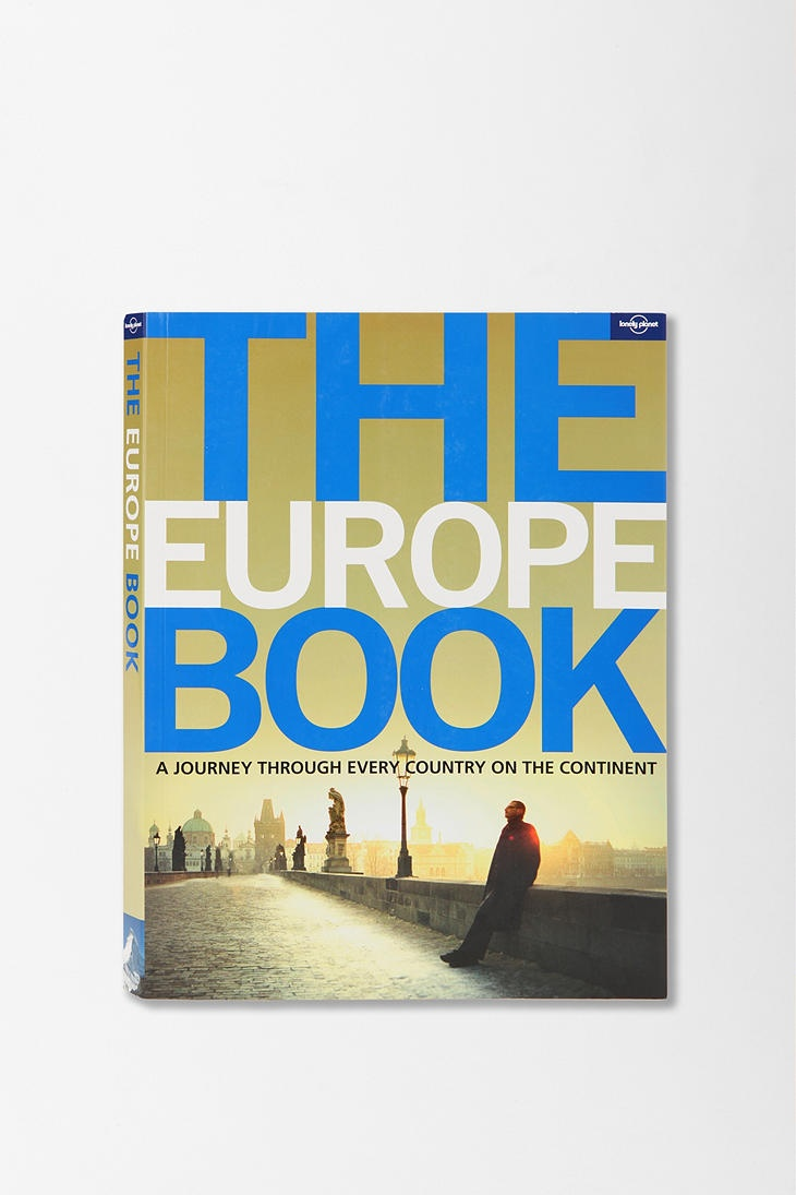 The Europe Book By Lonely Planet Coffee Table Bookstravel