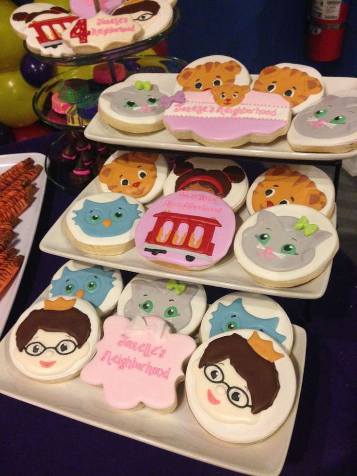 daniel tigers birthday party ideas