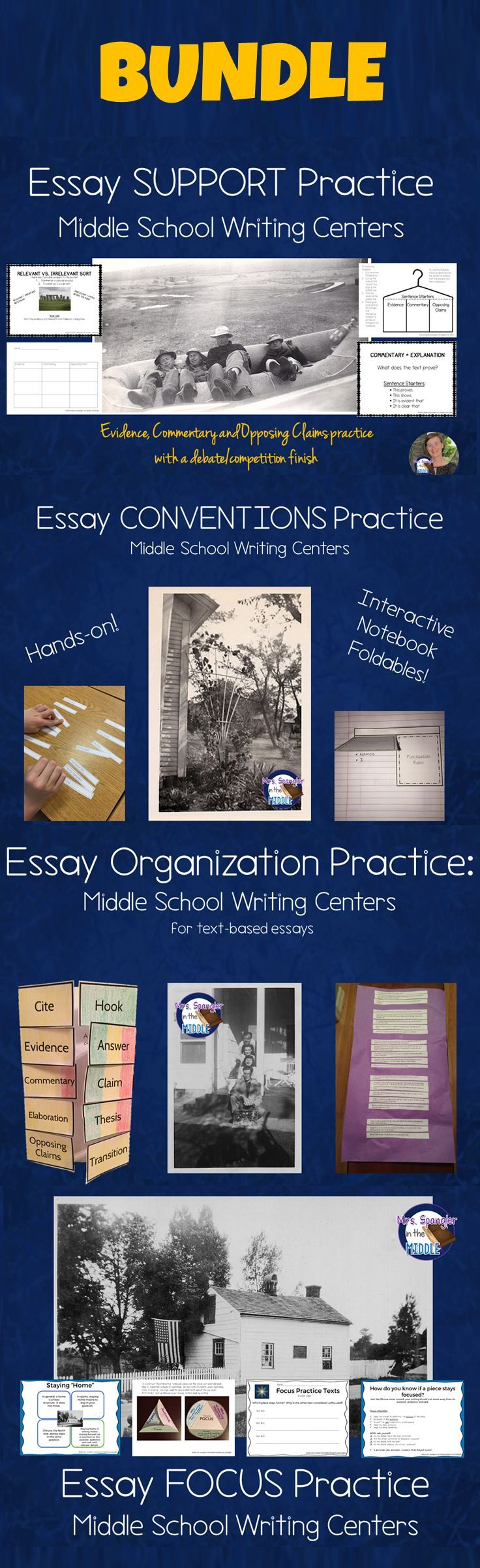 Essay writing resources
