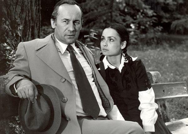 Szerencsi Éva Nagy Attilával az Abigél című filmben.(1978)