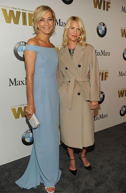 Nicola Maramotti e Claire Danes in Max Mara, alla serata di gala Crystal + Lucy Awards 2016 presentata da Women In Film a Beverly Hills, Los Angeles.