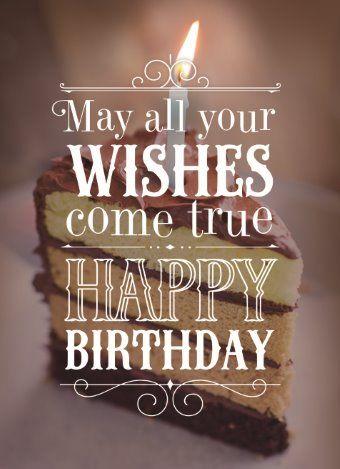 May all your wishes come true! Happy Birthday.  #Hallmark #HallmarkNL #verjaardag #wenskaart
