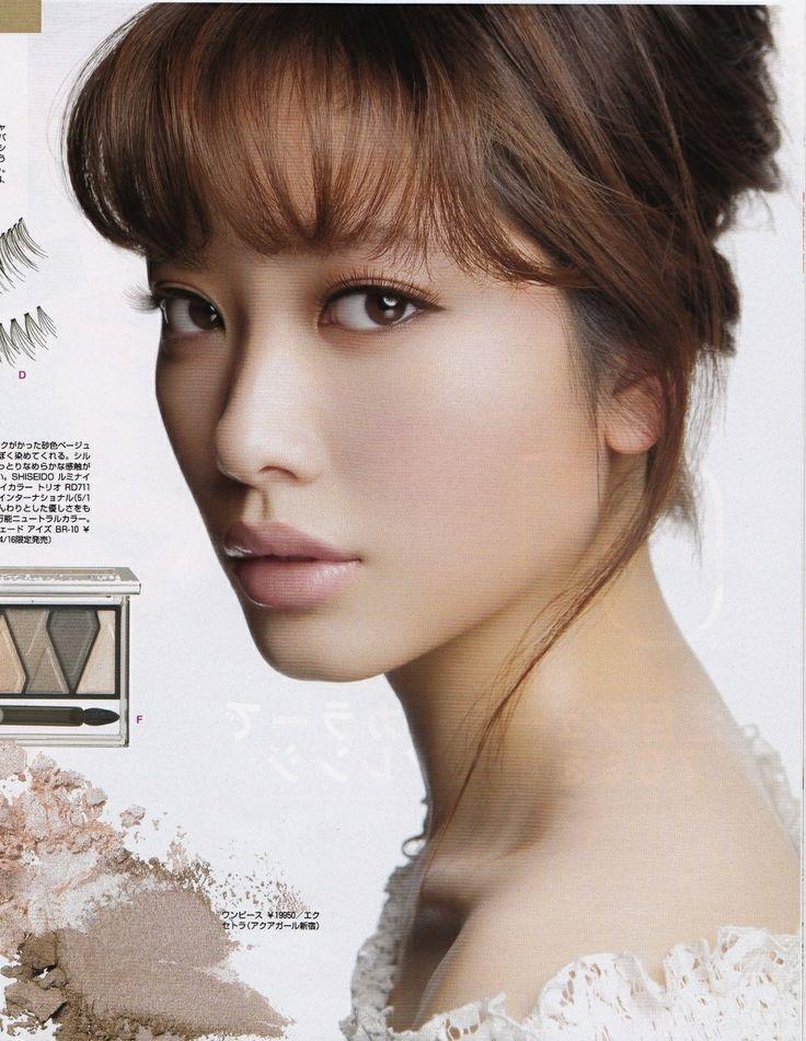 GLAMOROUS May Issue Photograph: Toshi Hirakawa  Make Up: Sakura Hair:Kanada Model: May Pakdee