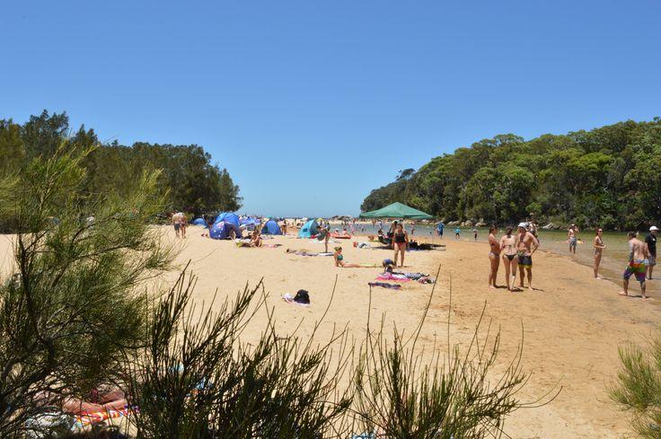Beach day at Wattamolla