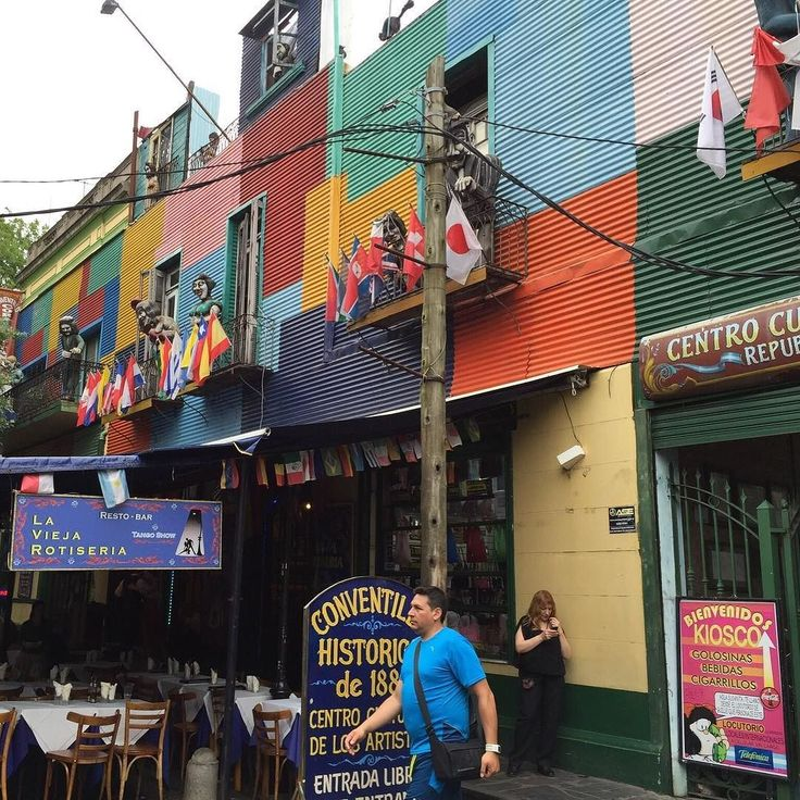 Colorful Caminito La Boca area in Buenos Aires #caminito #laboca #buenosaires #argentina #2015 #whereintheworldaremikeandkim #wanderlust #travel #traveling #vacation #visiting #instatravel #instago #instagood #trip #holiday #photooftheday #fun #travelling #tourism #tourist #instapassport #instatraveling #mytravelgram #travelgram #travelingram #igtravel