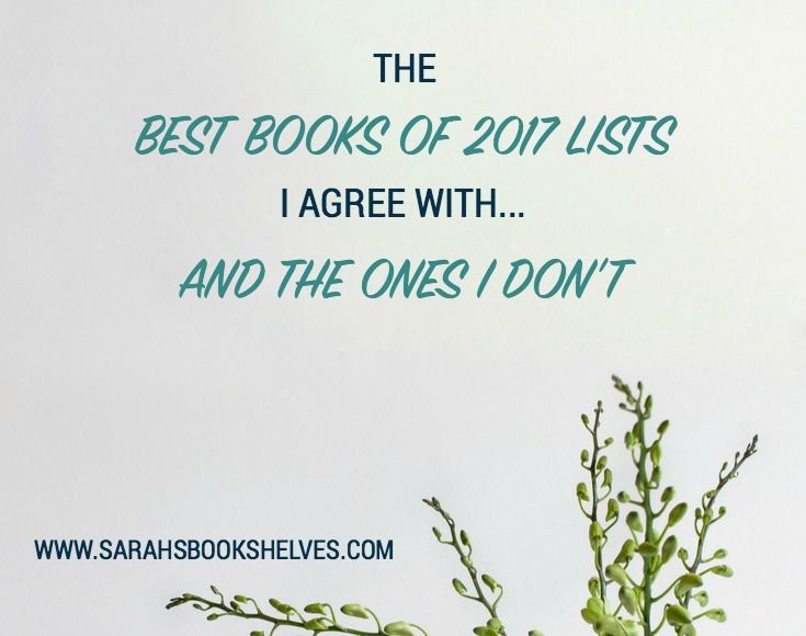 Use my free tool to figure out what Best Books of 2017 lists you most agree and disagree with...leading you to your Go-To and No-Go Bookish News Sources.