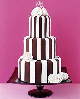 Brides Magazine: Unique Wedding Cakes : Wedding Cakes Gallery