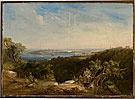 Conrad Martens  View of Sydney Harbour showing Sydney Cove  1840-41