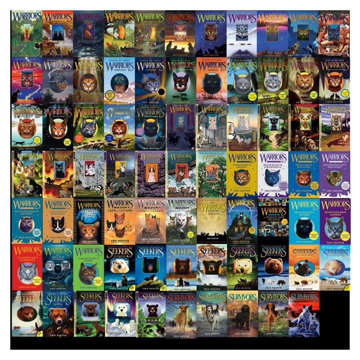 Books by Erin Hunter Warriors, Seekers, and Survivors