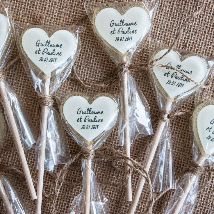 Sucettes coeur mariage - #cœur #mariage #Sucettes