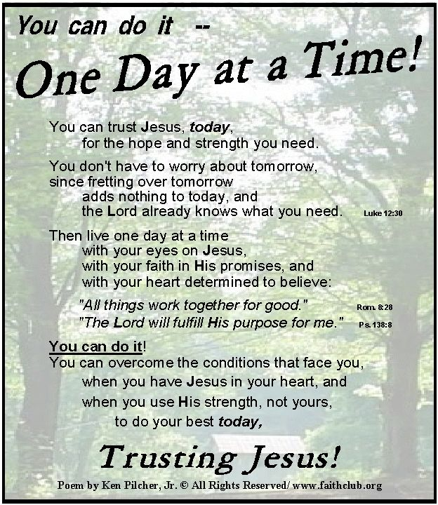 Spiritual Love Poems: 58 Best One Day At A Time: Faith, Hope, Love