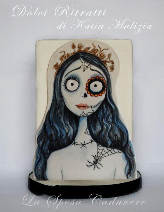 """Corpse Bride Cake """" La sposa cadavere"""""""