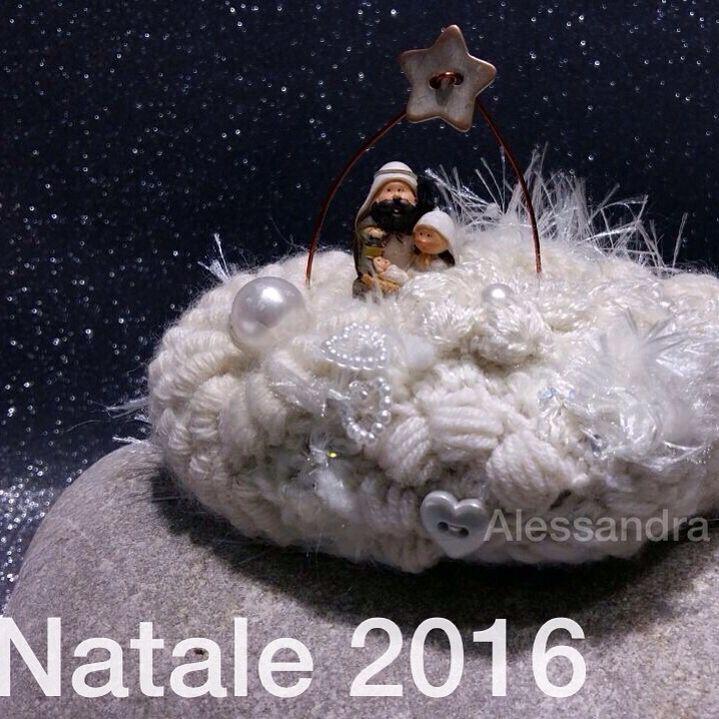 #christmasdecorations #freeformcrochet #crochet #handmade #alessandraindovina