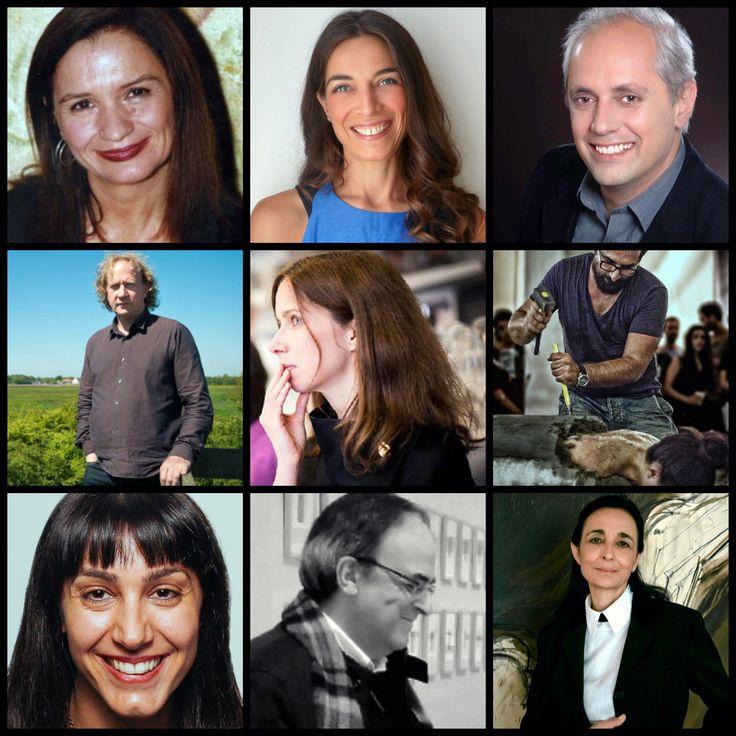 Οι πρώτοι εννέα από τους δεκαοκτώ συνεργάτες-επιμελητές του καλλιτεχνικού μας προγράμματος! // The first nine of our artistic programme's eighteen partners-curators!  #Eleusis2021 #EUphoria #ECoC2021 #Eleusis #Elefsina #Ελευσίνα