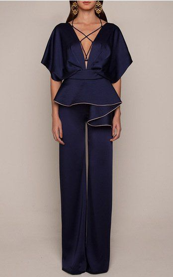 Johanna Ortiz Look 42 on Moda Operandi - Love the lines and details.