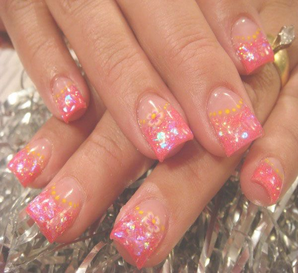 12 best crystal nails images on Pinterest | Crystal nails, Bling ...