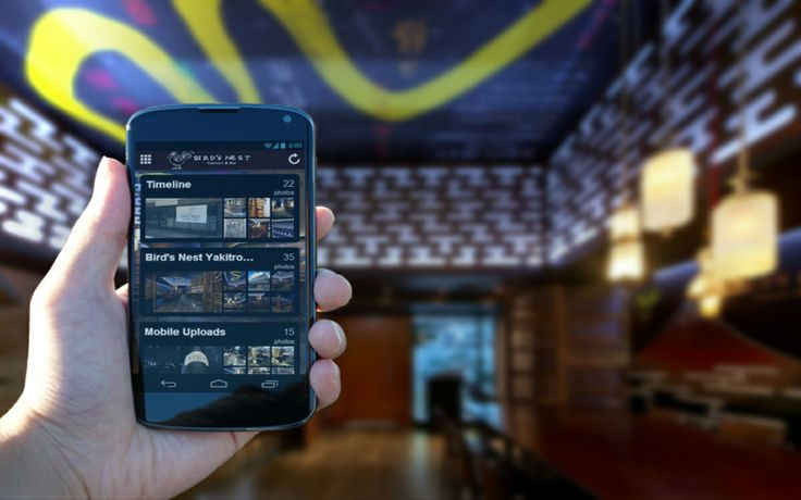 Birds Nest Restaurant Mobile App - Integrate gallery images into your app showcasing your restaurant images and loyalty customers.