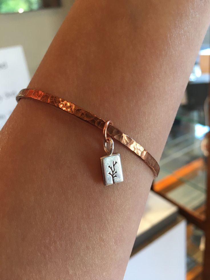 A recycled U.P. copper bracelet is the perfect gift that keeps giving. Adding charms in the future just makes the piece even more beautiful and personalized! This Valentine's day avoid the corporate giants and shop local with Beth Millner Jewelry.