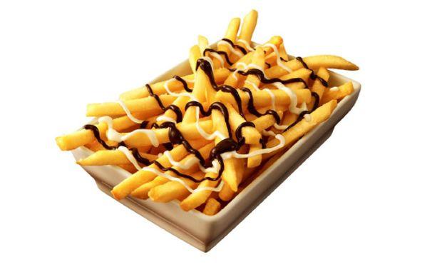 McDonald's lancia le patatine al cioccolato McDonald's lancia le patatine al cioccolato per uscire dalla crisi Sarà proprio vero che il cioccolato rende tu