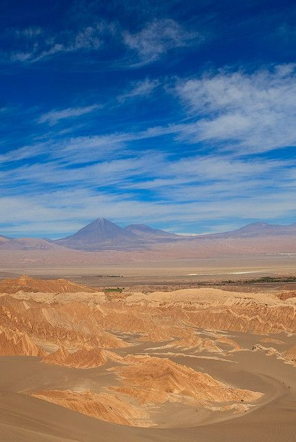 Spectacular! Valle de la Muerte (Death Valley) - Atacama Desert, Chile. http://reversehomesickness.com/south-america/atacama-driest-desert-on-earth/ #chile #atacama #desert