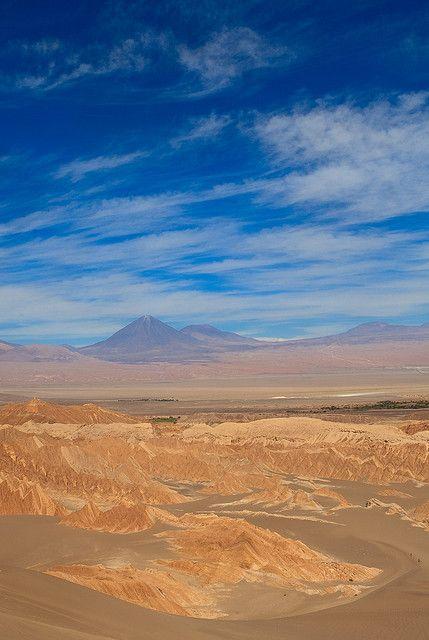 Spectacular! Valle de la Muerte (Death Valley) - Atacama Desert, Chile. http://reversehomesickness.com/south-america/atacama-driest-desert-on-earth/ #chile #atacama #desert