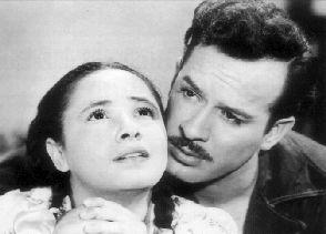"""Nosotros los pobres (1947)  Pedro Infante, Evita """"Chachita"""" Muñoz"""