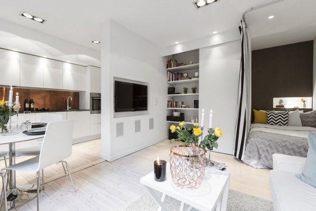 Скандинавский стиль в интерьере: оформление квартиры в скандинавском стиле — фото
