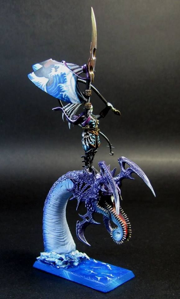 dark elves armies - sea theme
