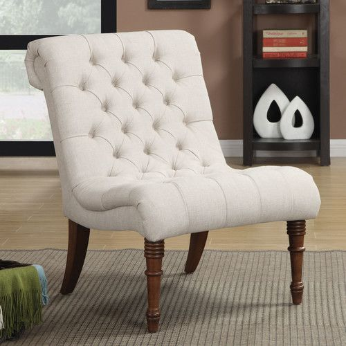 Found it at Wayfair - Mulberry Slipper Tufted Side Chair