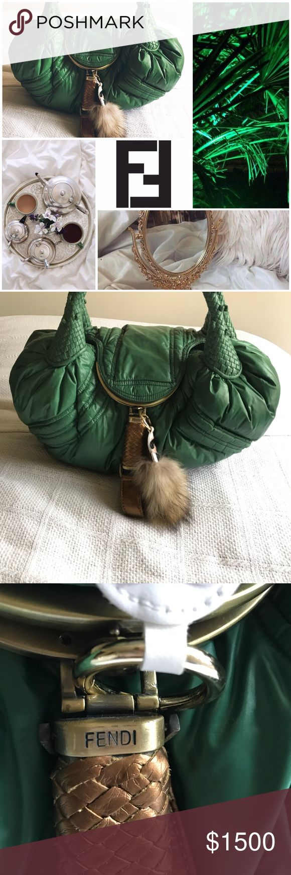 LIMITED EDITION MONCLER FENDI SPY BAG Limited Edition Moncler Fendi Spy Bag. There is a flaw which two burns see pictures. There was only 500 of these bags produced. So I'm looking to sell  it will consider trading for a bag with same value or exclusive only. Fendi Bags Totes
