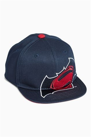 Buy Navy/Red Batman® Vs Superman® Cap (Younger Boys) from the Next UK online shop