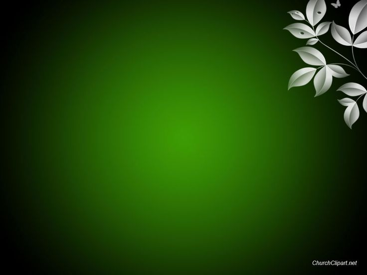 free powerpoint christian sermon background, green