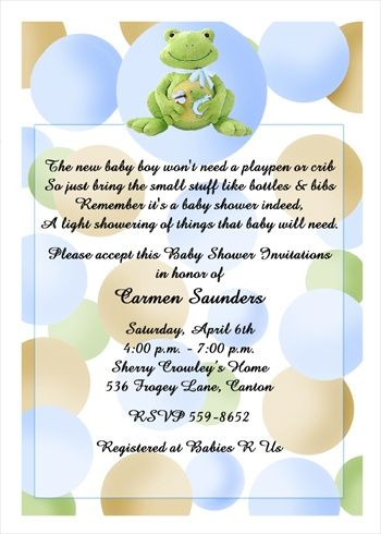 123 best Baby Shower Party Invitations images on Pinterest Baby - baby shower samples