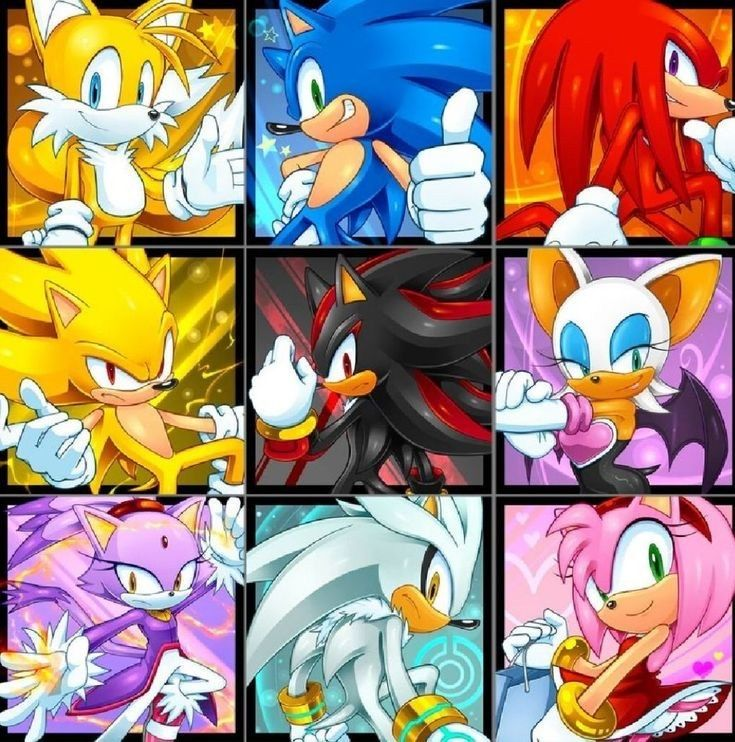 Pin by Sergo on Tails prower in 2020   Sonic, Sonic and ...