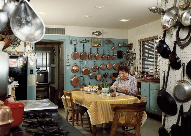 Inside Julia Child's *Actual* Home Kitchen Slideshow Photos - Bon Appétit
